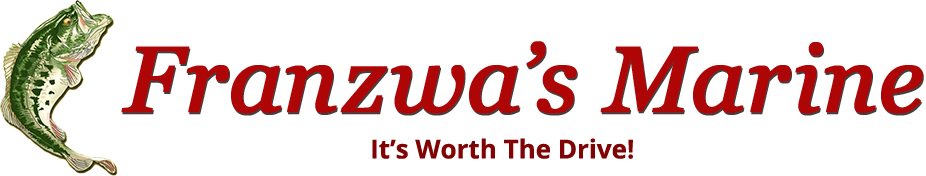 Franzwa's Marine logo with slogan
